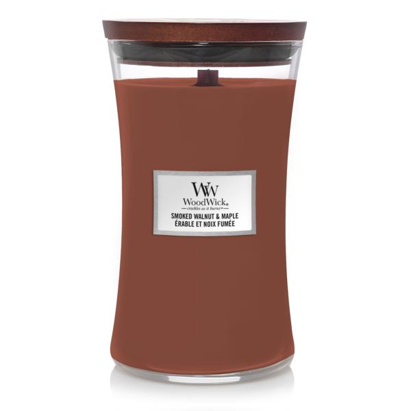 Woodwick Smoked Walnut & Maple Large