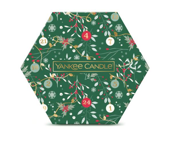 YC Countdown To Christmas 18 Tealight & 1 Holder Gift Set