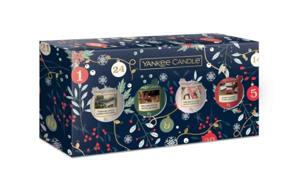 YC Countdown To Christmas 4 Votive Gift Set
